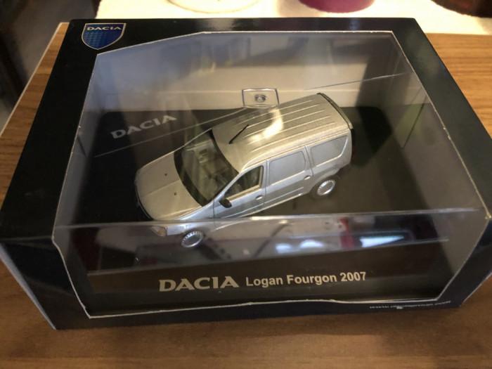 Macheta Dacia Logan VAN Mcv 2007 Eligor 1/43