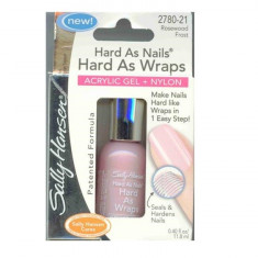 Lac de unghii, Sally Hansen, Hard As Nails, acrylic gel + nylon,11.8 ml, 2780-21 Rosewood Frost