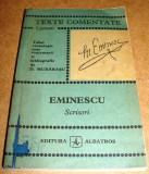 Scrisori / Mihai Eminescu Texte Comentate