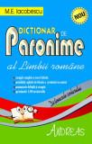 Dictionar de Paronime al Limbii Romane   M. E. Iacobescu, Andreas