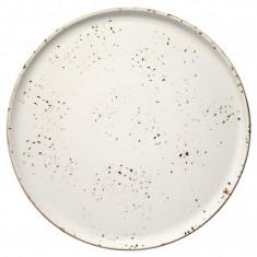 Platou pentru pizza din portelan -GRAIN 32cm MN0101127 BONNA