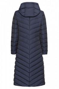 Jacheta textil dama, din poliamida, marca Geox, W9425L-F4476-N-42-06, bleumarin 46