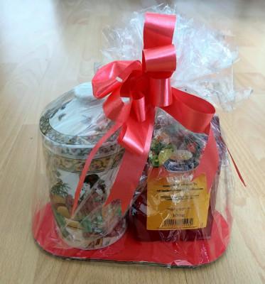 Infuzor / Cana ceai - cu infuzor + capac - portelan China - set cadou foto