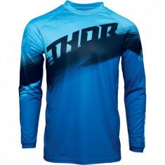 Tricou motocross Thor Sector Vapor culoare Negru/Albastru marime 2XL Cod Produs: MX_NEW 29106130PE