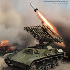 1:35 BM-8-24 Self-Propelled Rocket Launcher. Int. Kit 1:35