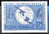 1965 LP607 Centenarul UIT MNH