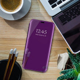 Husa clear view Samsung J6 plus 6 culori