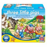 Joc de societate Cei trei purcelusi THREE LITTLE PIGS, orchard toys