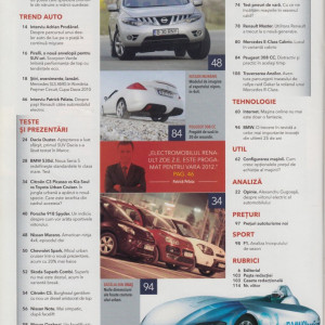 Auto Motor si Sport nr. 5, ed. Sanoma Hearst Romania, Bucuresti, 2010