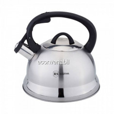 Ceainic Inox cu Fluier 2.5l Inductie Rainstahl RSWK763525
