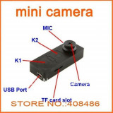 Mini camera spionaj nasture HD S 918