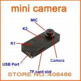Mini camera spionaj nasture HD S 918
