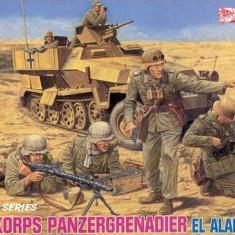 + Kit figurine 1/35 Dragon 6389 -  Afrika Korp Pg El Alamein 1942 +