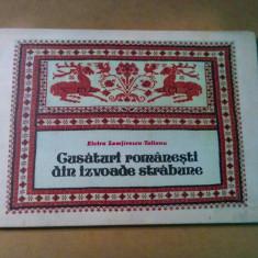 CUSATURI ROMANESTI DIN IZVOADE STRABUNE - E. Zamfirescu-Talianu - 40 p.+ XX pl.
