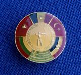 Insigna Tir - Romania - Campionatele Balcanice - 1984 - Bucuresti