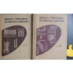 Manualul tehnicianului din industria alimentara vol I + II