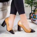 Pantofi Morito galbeni eleganti - rl