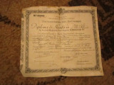 diploma de licenta filosofie si litere an 1925