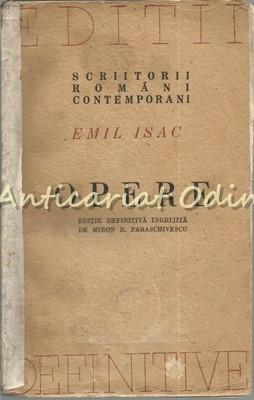 Opere. Poezii. Impresii Si Sensatii Moderne (1908) - Emil Isac foto