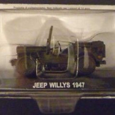Macheta Jeep WILLIS 1947  CARABINIERI scara 1:43