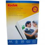 Hartie foto Kodak Ultra Premium Satin A4 , 270 g/mp, 20 coli/pachet