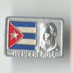 Insigna Personalitati - Dictator - Lider politic  - CUBA - FIDEL CASTRO