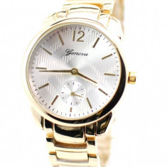 Ceas de dama elegant Geneva GOLD GV4925