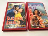 SECRETE DE FAMILIE--ELIZABETH ADLER   2 VOLUME LEGATE--RF6/3