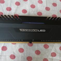 Memorie ram Corsair Vengeance White LED 8 GB DDR4 2666MHz.