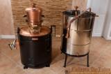 Cazan Tuica 200 Litri Profesional, Stabil cu Amestecator