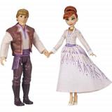 Set Papusi Frozen 2 Anna si Kristoff