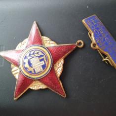 1968 Insigna Fruntas in intrecerea socialista