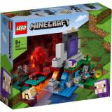 LEGO® Minecraft - Portalul ruinat (21172)