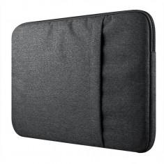 Husa Upzz Tech-protect Sleeve Macbook Air,pro 15 Inch Dark Grey