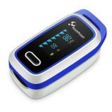 Pulsoximetru digital pentru deget Lepu LOX100A, ecran OLED, afisare puls PR