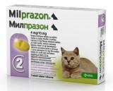 Milprazon Cat 4 / 10 mg (< 2 kg), 2 tablete