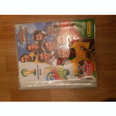 Binder gol, cartonase Adrenalyn, Panini, WORLD CUP 2014 Brasil coperti originale