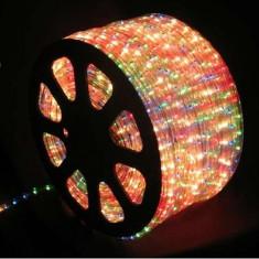 Furtun luminos cu LED multicolor, lungime 2 m