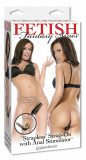 Strapless Strap-On cu stimulator anal
