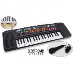 Orga electronica pentru copii cu 37 de clape si microfon inclus