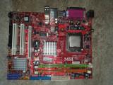 Placa de baza PC MSI MS-7529 cu procesor INTEL dual core E1400 - pentru piese, DDR2, Contine procesor