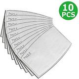 Cumpara ieftin Set 10 Filtre Masca Protectie Praf Anti Ceata PM2.5 pentru Masca Reutilizabila