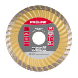 Disc diamantat turbo canelat Proline, super dur, 115 mm