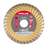 Disc diamantat turbo canelat Proline, super dur, 115 mm