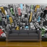 Fototapet vlies - NY kaleidoscope - 350 x 270 cm, Artgeist