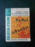 E. GEORGESCU - PROBLEME ACTUALE DE MATEMATICA IN LICEU