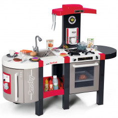 Bucatarie copii Smoby Tefal French Touch Bubble cu oala magica si accesorii
