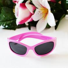 Ochelari roz de soare pentru copii