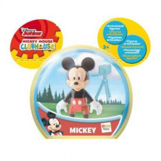 Figurina articulata Mickey and Minnie Mouse