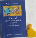 Raportul dintre matematica si logica la Octav Onicescu Calin Candiescu